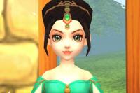 3D Fantasie-Prinzessin