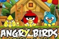 Angry Birds zurück zum Nest