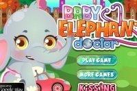 Baby Elefanten Betreuung