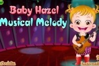 Baby Hazel macht Musik