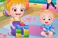 Baby Hazel und ihr Bruder