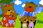 Bärenfamilie anmalen