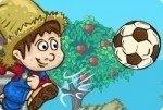 Bauernhof Fußball