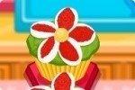 Blumen Muffin