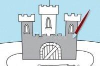 Burg ausmalen
