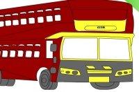 Bus ausmalen