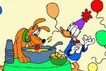 Donald Duck ausmalen