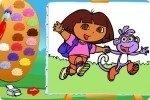Dora ausmalen