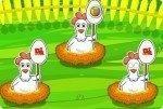 Eier einsammeln