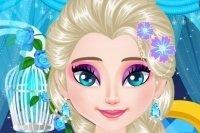 Elsa strahlende wimpern