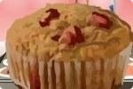 Erdbeer Bananen Muffin