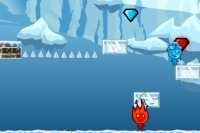 Feuerjunge und Wassermädchen Eis Abenteuer