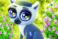 Fröhlicher Lemur
