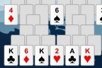 Kartenspiel Solitär