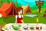 Kochen am Campingplatz