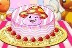 Kuchen mit Comicfigur