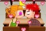 Küssen im Klassenzimmer