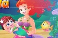 Meerjungfrau Baby