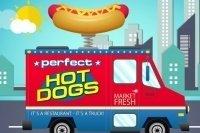 Perfekter Hotdog