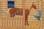 Pferdestall Ausgang finden