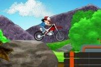 Pokemon Motorradfahren