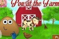 Pou auf dem Bauernhof