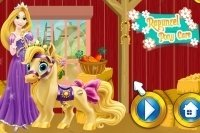 Rapunzel mit Pony