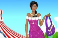 Schöne Prinzessin Ankleiden