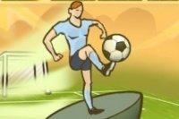 Super Sprint Fußballspiel
