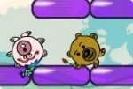 Verliebte Dude Bären