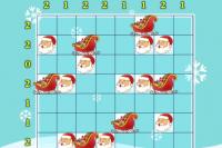 Weihnachtsmann-Sudoku