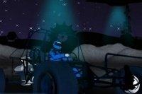 Weltraum Buggy Rennen