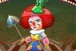Clown Mädchen