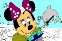 Minnie Maus ausmalen 4