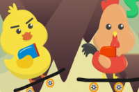 Super Huhn und Ente