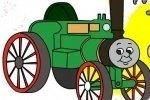 Thomas Lokomotive ausmalen