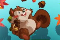 Verrücktes Eichhörnchen